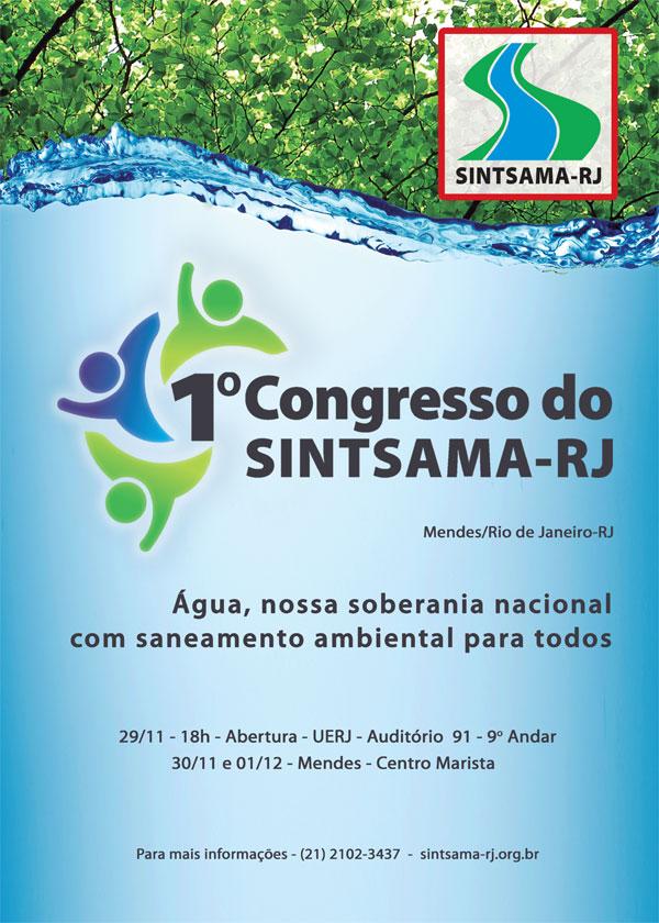 Sintsama-RJ realiza seu 1º Congresso a partir desta sexta-feira